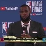 LeBron James | Game 1 NBA Finals Press Conference