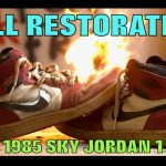 OG 1985 FULL RESTORATION (SKY JORDAN 1)