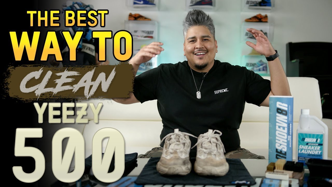 """Yeezy 500 Blush Cleaning Suede Care Tips - Yeezy 500 """"Blush"""" Cleaning + Suede Care Tips"""