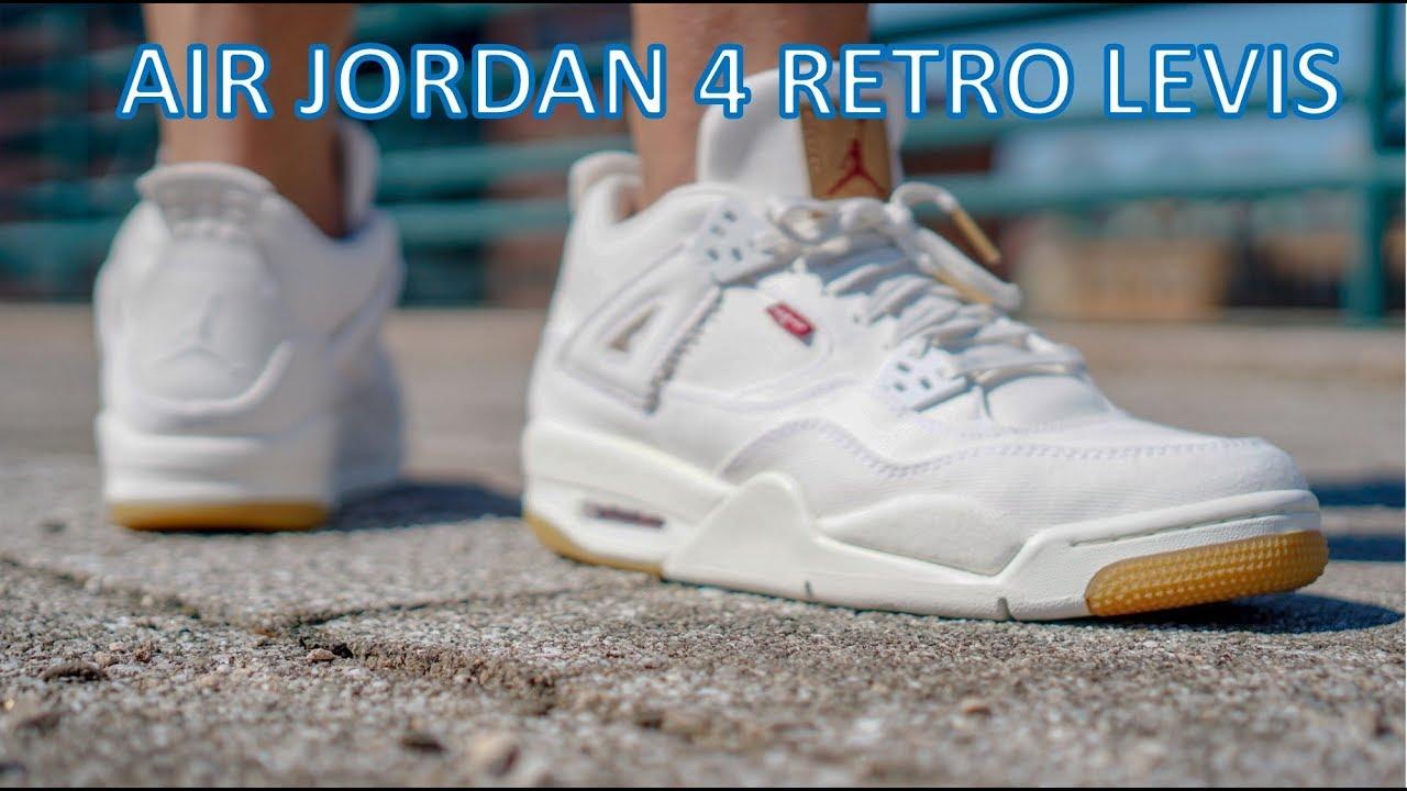 Review/On Feet - Air Jordan 4 Levis