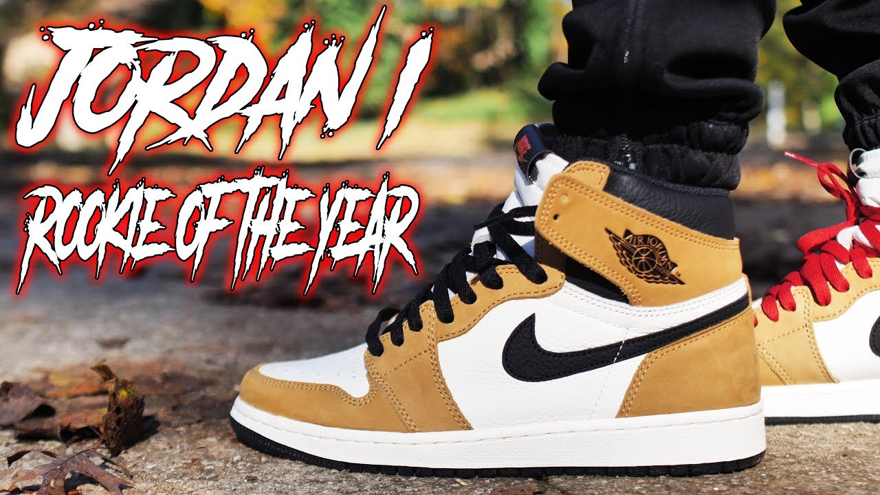 A MUST COP JORDAN 1 ROOKIE OF THE YEAR ROTY REVIEW AND ON FOOT  - A MUST COP !!! JORDAN 1 ROOKIE OF THE YEAR ROTY REVIEW AND ON FOOT !!