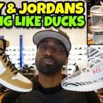 Yeezy Zebras & Jordan 1 ROY Are Both Sitting Like Ducks 🐤🐥😂🤣