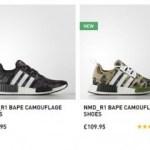 【1月12日発売予定】adidas Originals x BAPE Collection NMD R_1 【アディダスオリジナルスxベイプ NMD R_1】