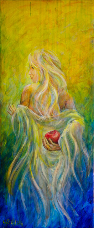 painting of eve