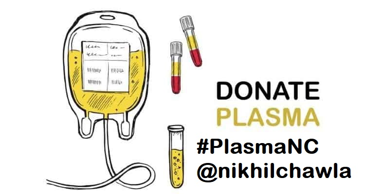 blood-plasma-#PlasmaNC @nikhilchawla