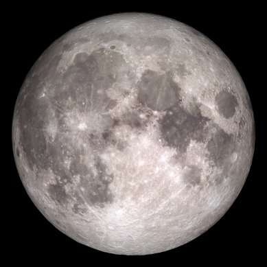 "The moon has plenty of dark spots on its ""complexion"""