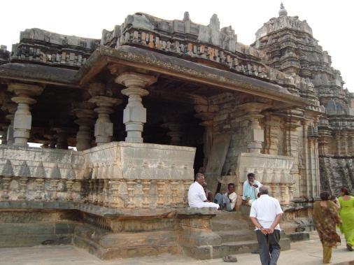 A temple in Karnataka's Haveri district, where Kanaka Dasa was from