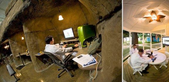 Desain Kantor Paling Keren di Dunia - Desain kantor keren - Inventionland Design Factory 02