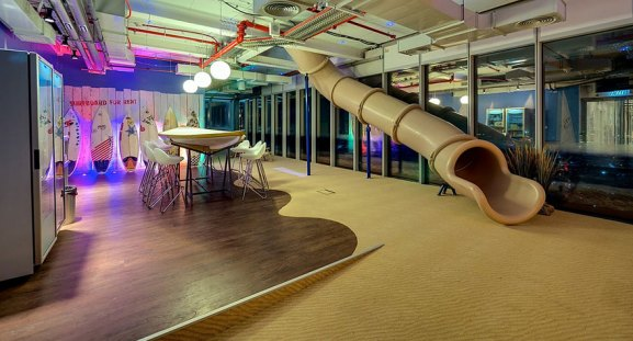 Desain Kantor Paling Keren di Dunia - Desain kantor keren - Kantor Google 06