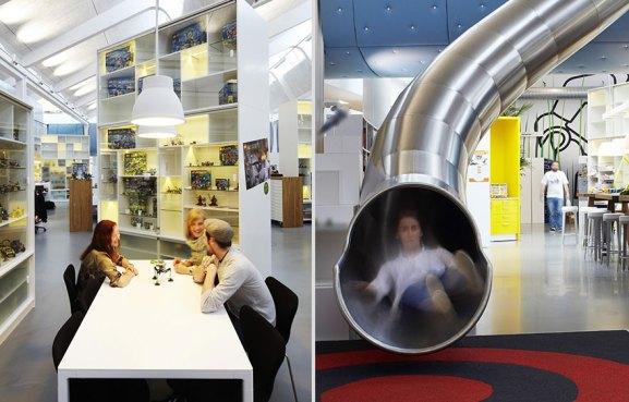 Desain Kantor Paling Keren di Dunia - Desain kantor keren - Lego 02
