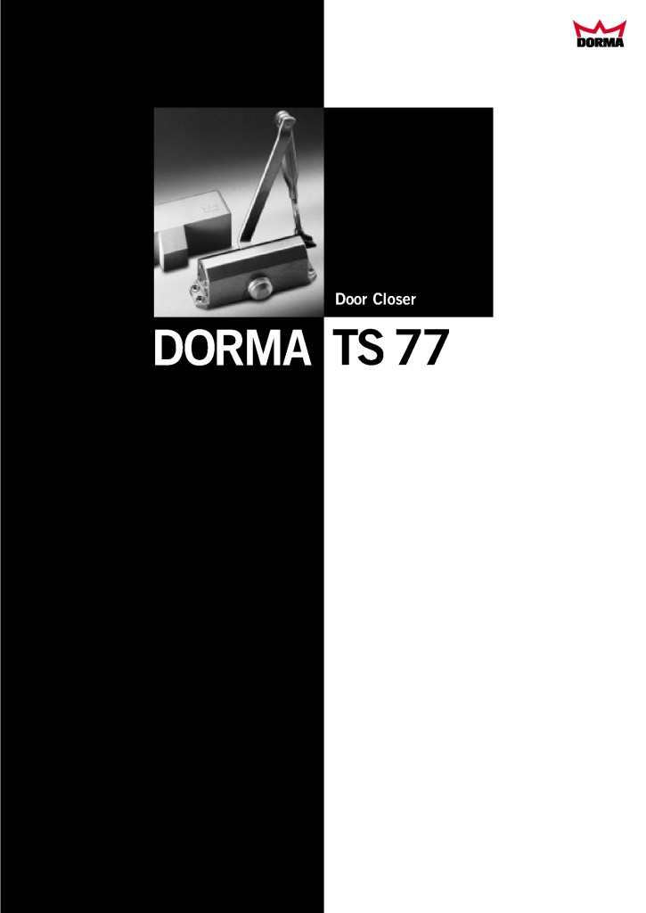 Door Closer dorma tipe TS 77