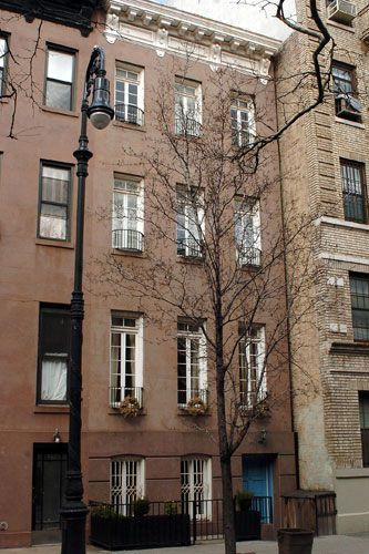 Hilary Swank's town house in Manhattan 2005