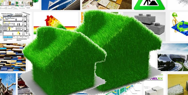 Gunakan Bahan Bangunan Ramah Lingkungan