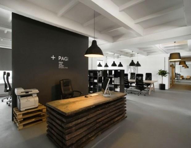 Desain Ruang Lobi Kantor