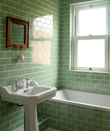 Memilih Material Ubin Kamar Mandi - contoh desain kamar mandi - Going Green