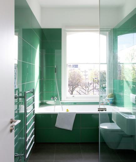 Memilih Material Ubin Kamar Mandi - contoh desain kamar mandi - Sea of Green