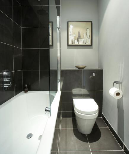 Memilih Material Ubin Kamar Mandi - contoh desain kamar mandi - Shady Days of Gray