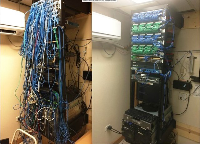 Cabling Organization Paling Rapi di Server Rack Data Center - Best Rack Cabling Management Arrangement Design 14