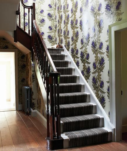24 Contoh Desain Wallpaper Dinding yang Cantik - Captivating - Best Home Wallpaper Design
