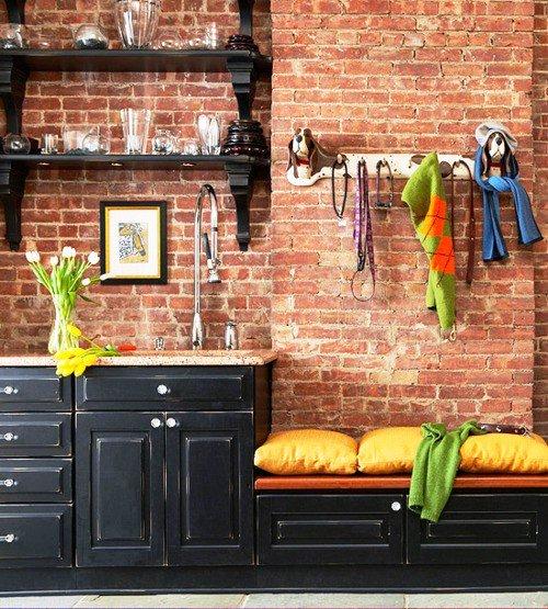 Gambar Batu Bata Desain Interior Modern dan Klasik - Tembok Batu Bata - Interior Desain Kamar Rumah 56