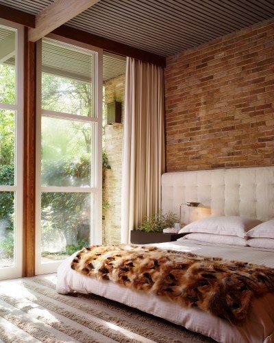 Gambar Batu Bata Desain Interior Modern dan Klasik - Tembok Batu Bata - Interior Desain Kamar Rumah 59