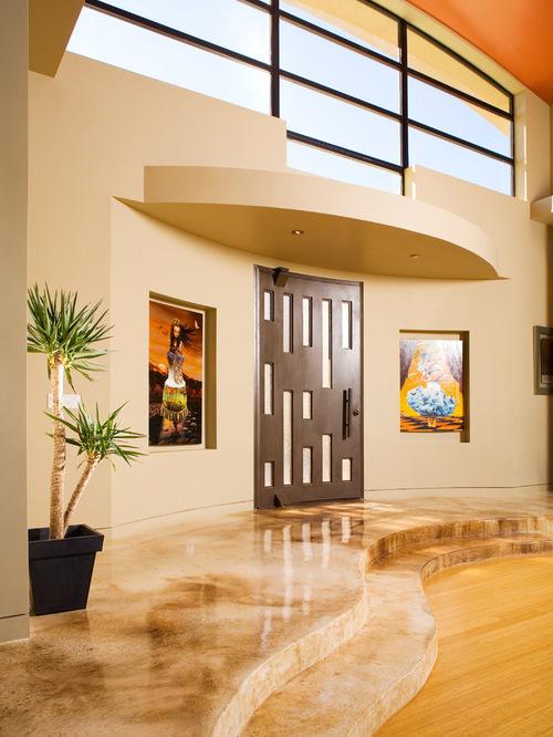 Kontraktor Pelapisan Epoxy Coating Proyek Lantai Gedung - Epoxy Coated Floor contemporary entry