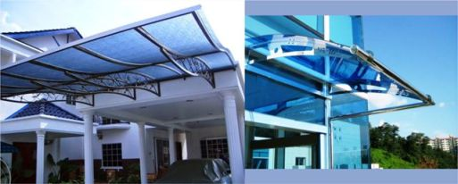 Memilih KanaCara memilih kanopi polikarbonat untuk rumah minimalisopi Polikarbonat untuk Rumah Minimalis