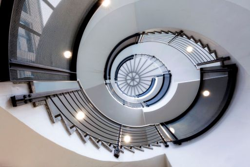 Amazing Spiral Staircase from Classic and Modern