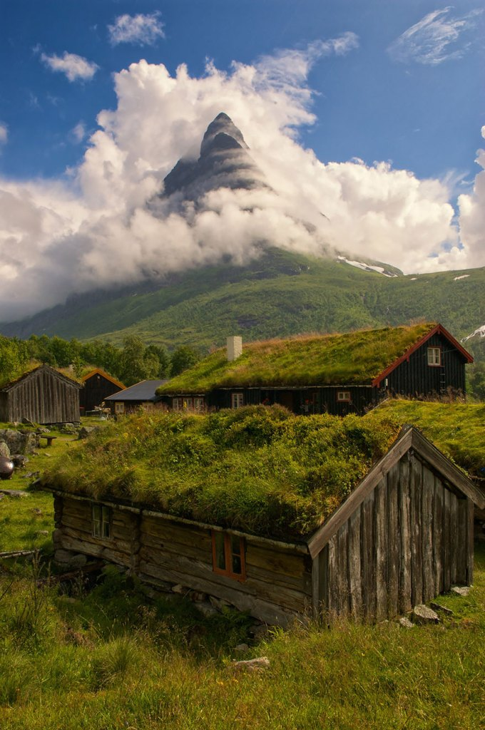 Inspirations of fairy-tale-liked architecture from Norway
