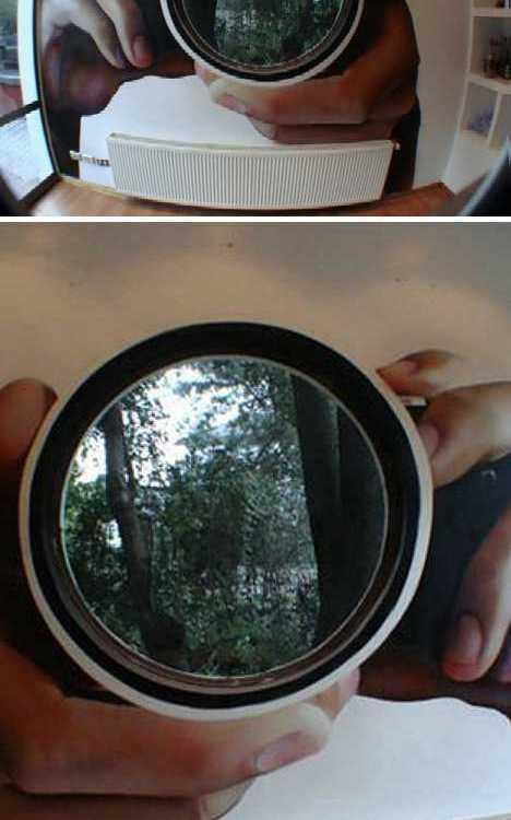Architectural Design Look Like Camera Shape