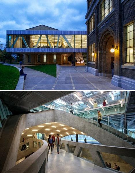 Milstein Hall by Rem Koolhaas