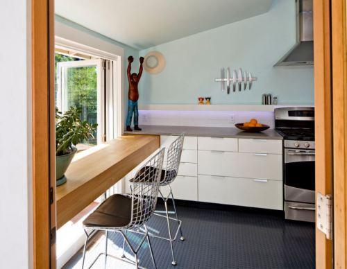 Lantai dengan material taret yang Cantik dan Modern