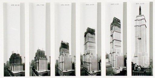 Inilah 20 Bentuk Bangunan Terkenal Ketika Dikonstruksi