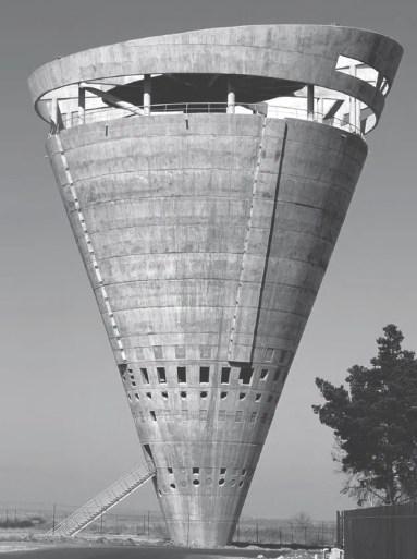 Bangunan Bundar Brutalis