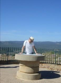 Roussillon mit Rund-um-Blick