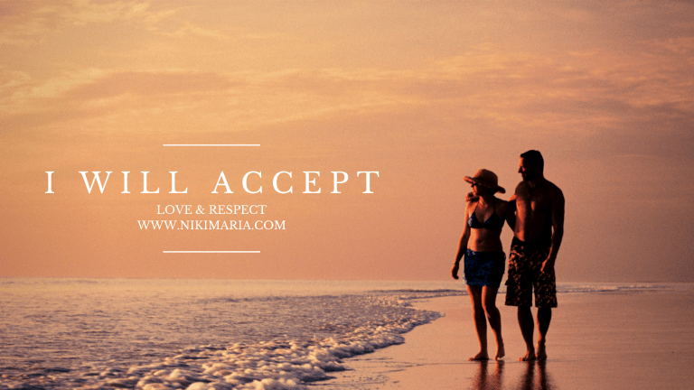 how to accept love and respect