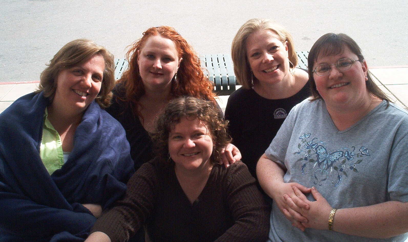 Paula, Niki, Heather, Jan, and Chelf