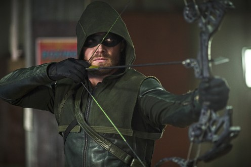 "Arrow -- ""Guilty"" -- Image AR306b_0236b -- Pictured: Stephen Amell as The Arrow -- Photo: Ed Araquel/The CW -- © 2014 The CW Network, LLC. All Rights Reserved."
