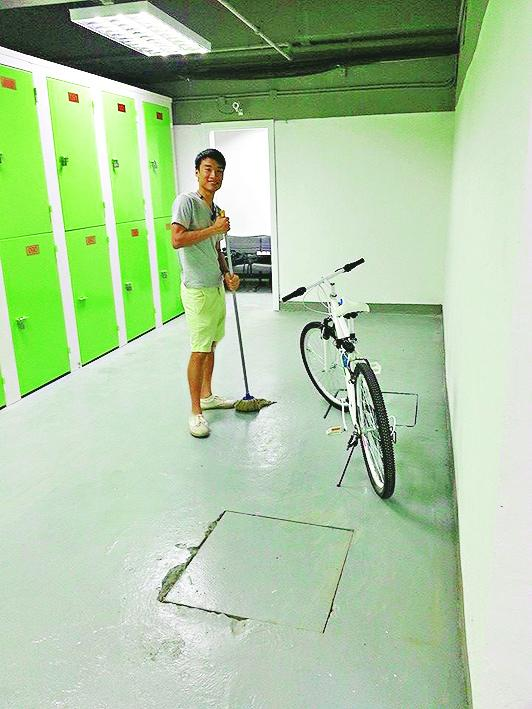Kyle Choi opened a bike storage and become a boss
