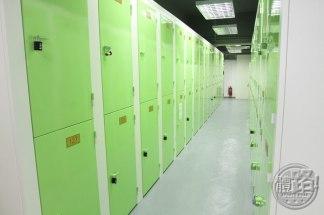 單車倉內141個儲物櫃有特別意義