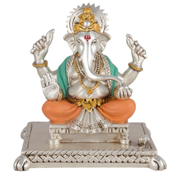 Silver Ganesh Idol