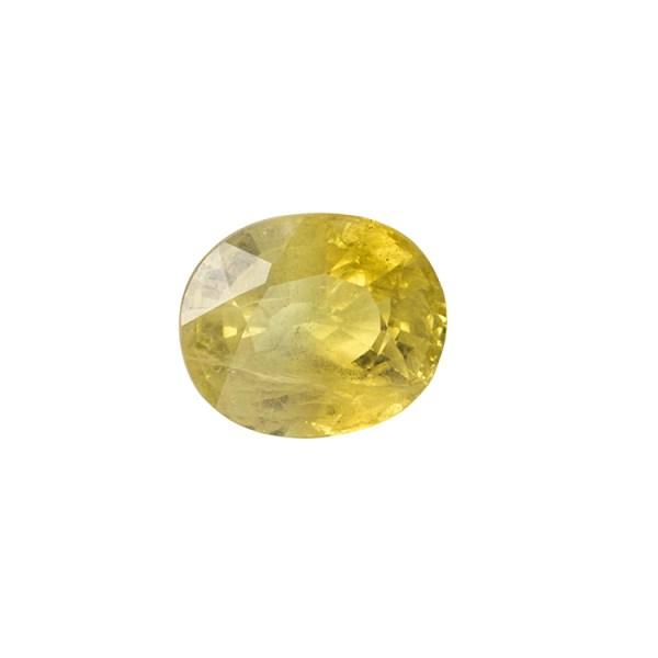 Yellow Sapphire (Pukhraj) - 3.85 carat from  Bangkok