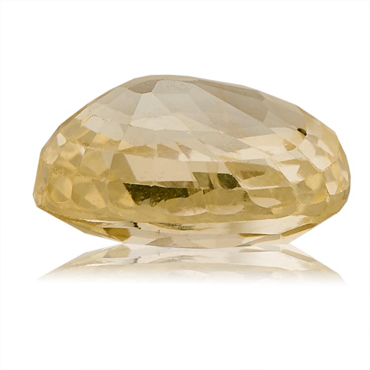 Yellow Sapphire (Pukhraj) -  3.55 carat from Ceylon