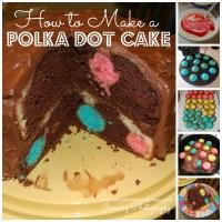 Foodie Alert: Polka Dot Cake