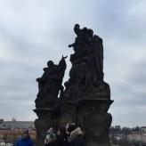 Statues in the Charles Bridge