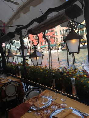 Restaurants by the canal
