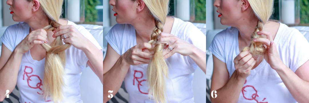 NO HAIR TIE BRAID TUTORIAL