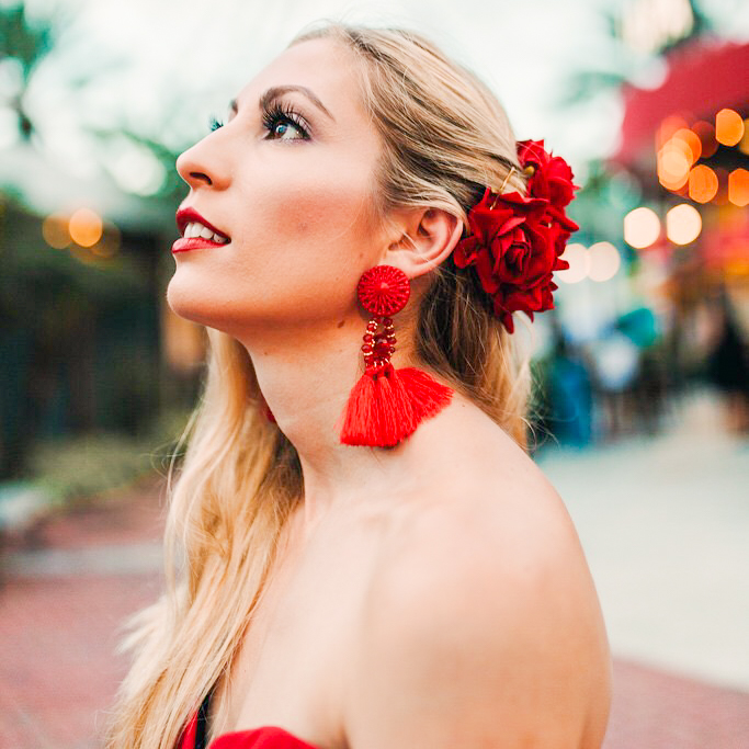 FLAMENCO DANCER INSPIRED LOOK