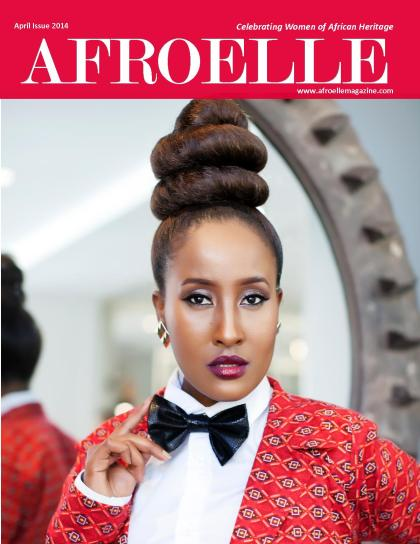 Afroelle Magazine April 2014 Cover