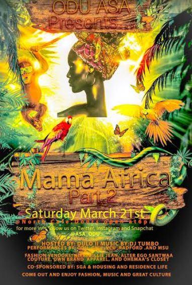 ODU Mama Africa 2015
